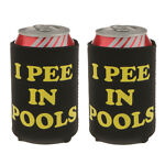 Vente 1 paire i pee dans les piscines soda beer stubby tin can cooler chilling
