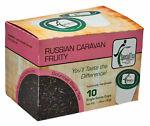 Vente russe caravane fruité noir mélange de thé simple servir (keurig compatible) 10