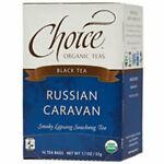 Vente thé noir russe caravane 16 sacs