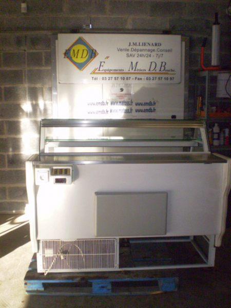 Comptoir vitrine r frig r 1 5 m tre emdb mes - Comptoir refrigere occasion ...