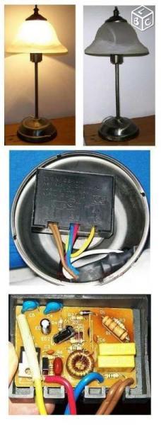 Interrupteur Tactile 3 Intensités Pour Lampe 220v Mes
