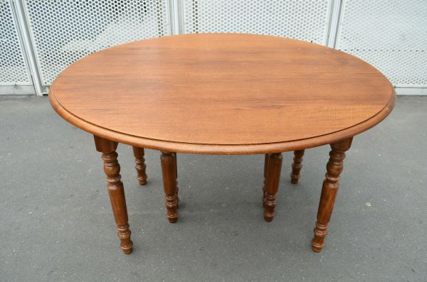 Annonce Table style louis philippe 8 pieds 8 rallonges 19